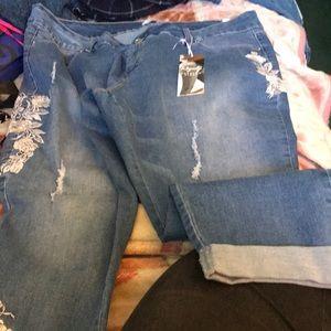 NWT sz 24w anklet jeans